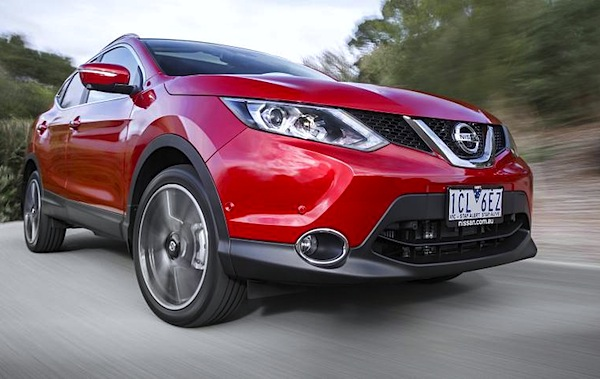 Nissan Qashqai Australia September 2014. Picture courtesy of caradvice.com.au