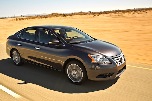 Nissan Sentra USA September 2014. Picture courtesy of motortrend.com