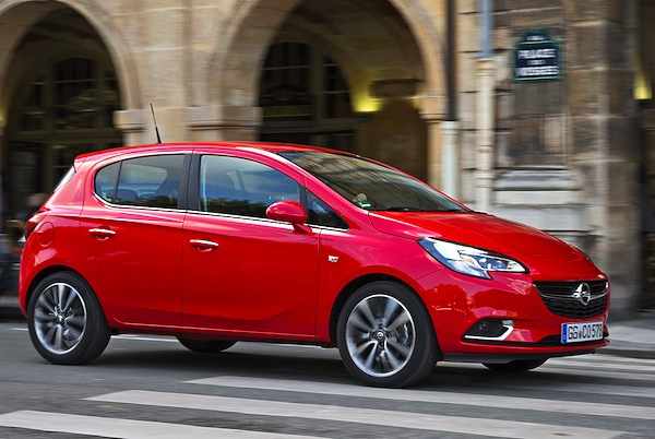 Opel Corsa Greece September 2014. Picture courtesy of autobild.de