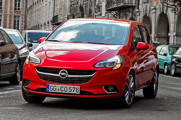 Opel Corsa Netherlands September 2014. Picture courtesy of autobild.de