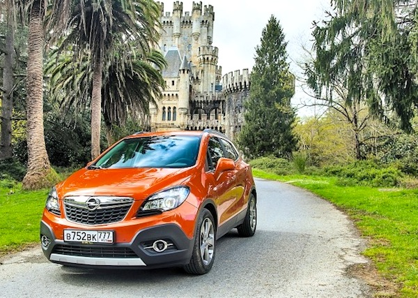 Opel Mokka Russia September 2014. Picture courtesy of zr.ru