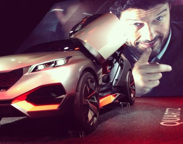 Peugeot Quartz Paris Auto Show