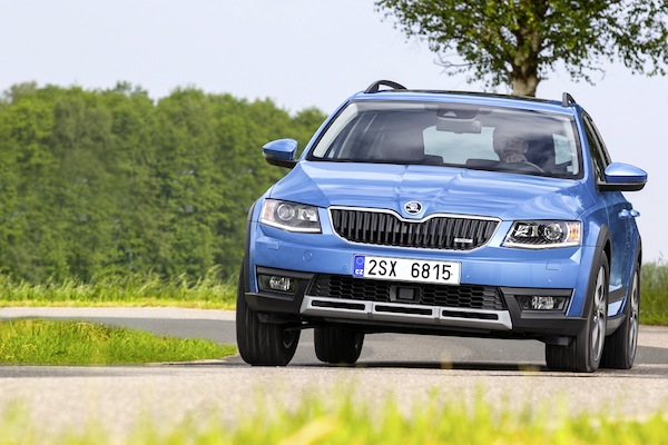 Skoda Octavia Europe 2014. Picture courtesy of largus.fr