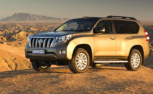 Toyota Prado Kuwait 2014. Picture courtesy of drivenews.co.za