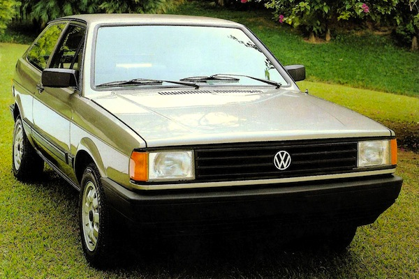 VW Gol Brazil 1987