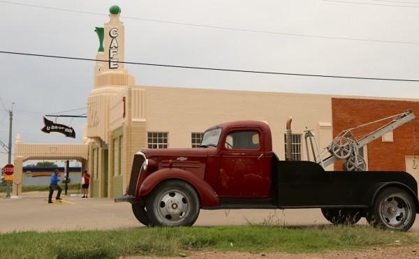 14. Chevy Truck Shamrock TX