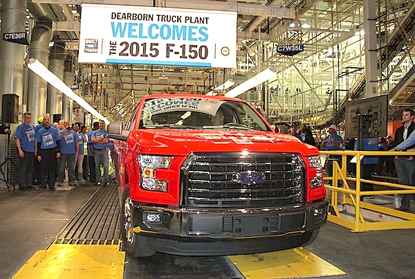 2015 Ford F-150 USA November 2014. Picture courtesy of thedetroitbureau.com