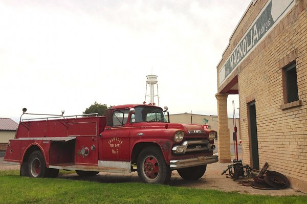 21. GMC Fire Truck Shamrock TX