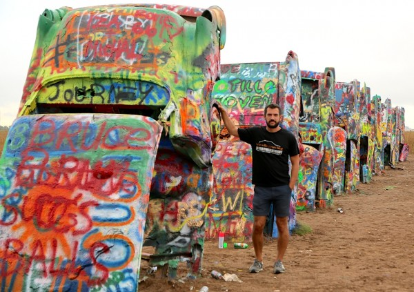 23. Cadillac Ranch Amarillo TX