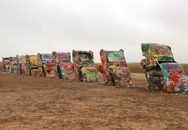 40. Cadillac Ranch Amarillo TX