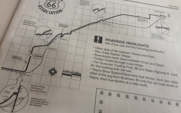 6. Route 66 map