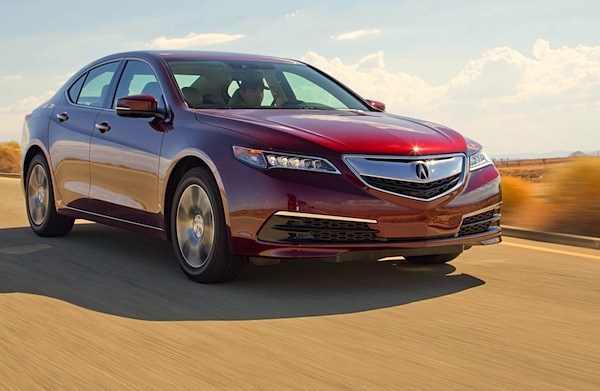Acura TLX USA October 2014. Picture courtesy of motortrend.com
