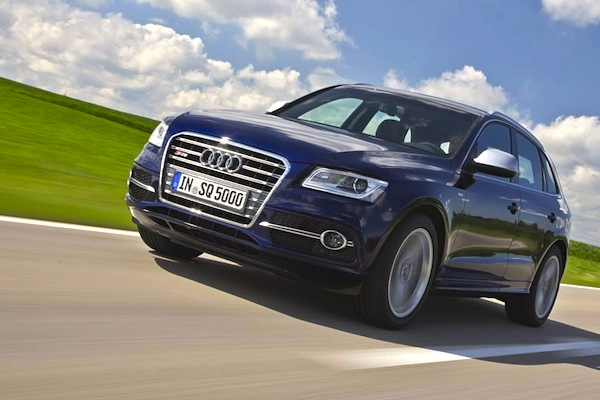 Audi Q5 Austria October 2014. Picture courtesy of largus.fr