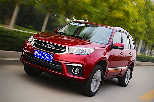 Chery Tiggo 3 China October 2014. Picture courtesy of xcar.com.cn