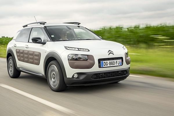 Citroën C4 Cactus Netherlands March 2015. Picture courtesy largus.fr