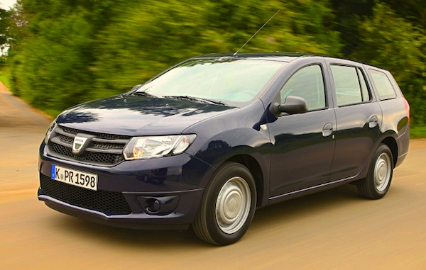 Dacia Logan MCV Algeria October 2014. Picture courtesy of autobild.de