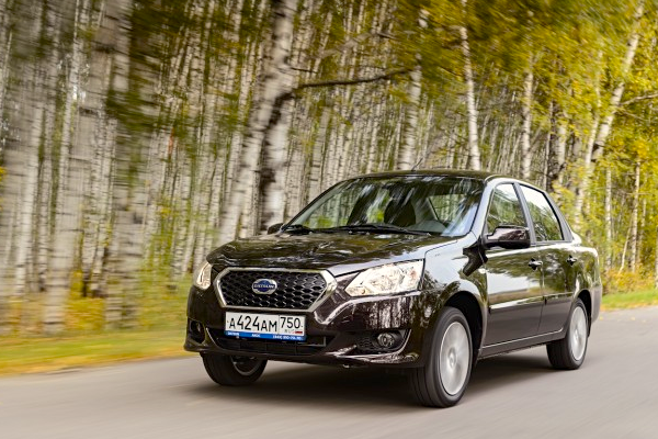 Datsun on-DO Russia October 2014. Picture courtesy of zr.ru