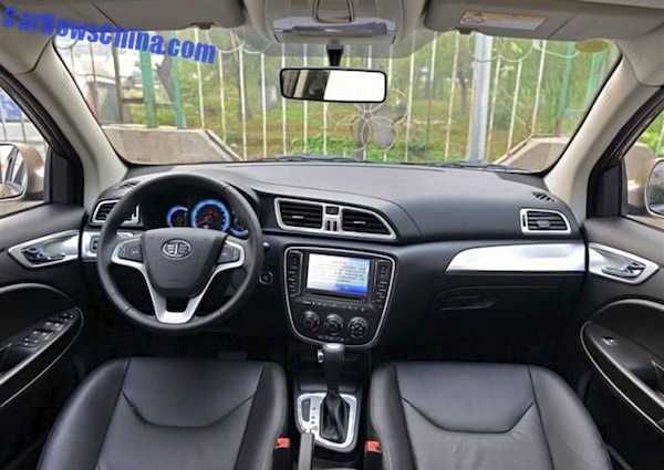 FAW Junpai D60 interior