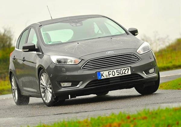 Ford Focus UK October 2014. Picture courtesy of whatcar.co.uk