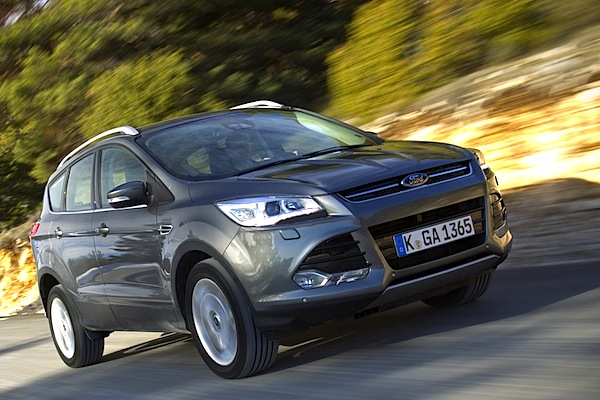 Ford Kuga France October 2014. Picture courtesy of largus.fr
