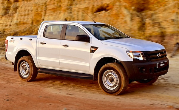 Ford Ranger Australia October 2014. Picture courtesy of caradavice.com.au