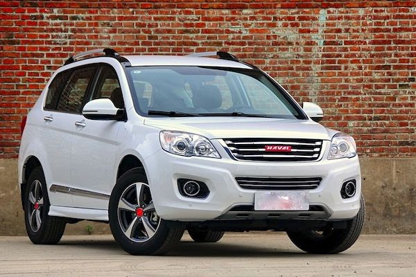 Haval H6 China October 2014. Picture courtesy of autohome.com