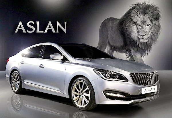 Hyundai Aslan South Korea October 2014. Picture courtesy of gpkorea.com