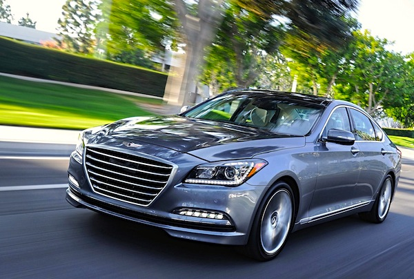 Hyundai Genesis South Korea October 2014