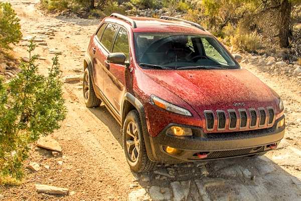 Jeep Cherokee USA October 2014. Picture courtesy of motortrend.com