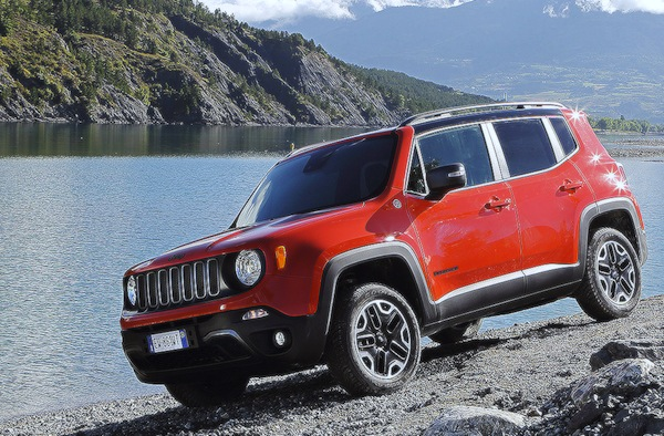 Jeep Renegade Germany October 2014. Picture courtesy of autobild.de