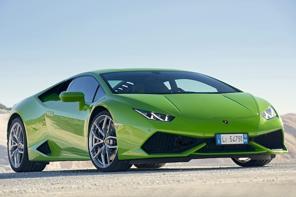 Lamborghini Huracan Hong Kong October 2014. Picture courtesy of motortrend.com