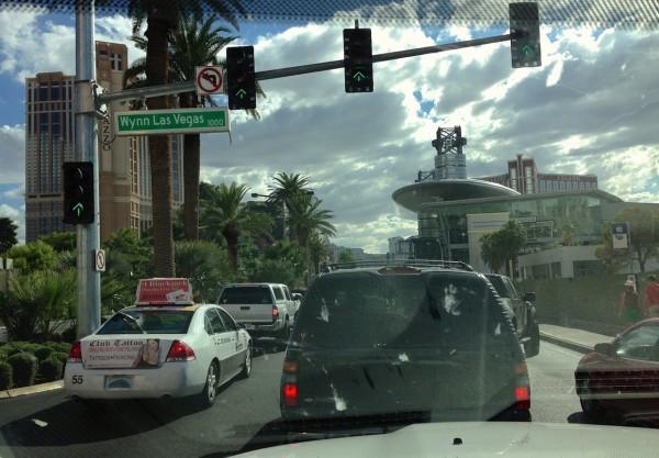 Las Vegas street scene