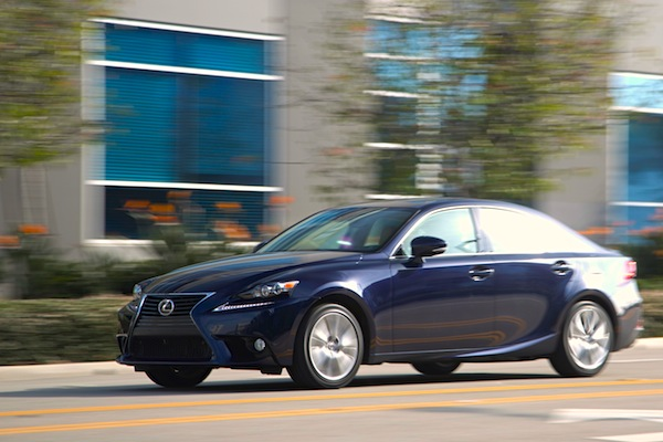 Lexus IS USA October 2014. Picture courtesy of motortrend.com