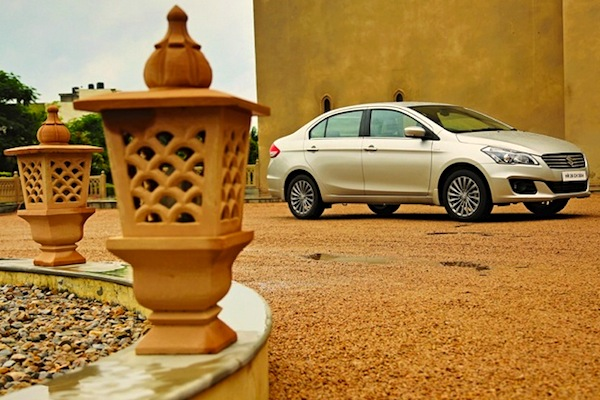 Maruti Ciaz India October 2014. Picture courtesy of zigwheels.com