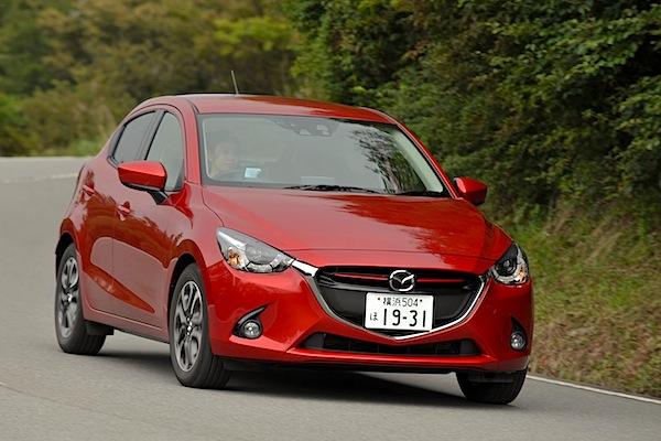 Mazda Demio Japan October 2014
