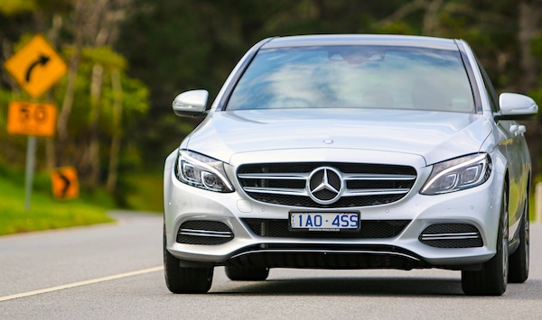 Mercedes C Class Australia March 2015. Picture courtesy of caradvice.com.au