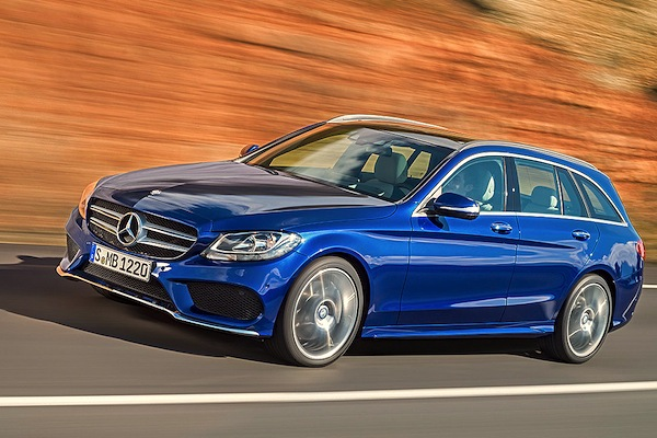 Mercedes C Class Germany October 2014