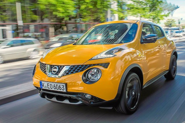 Nissan Juke Slovenia March 2015