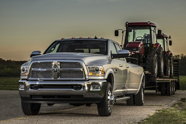 Ram 3500 Laramie Longhorn USA October 2014