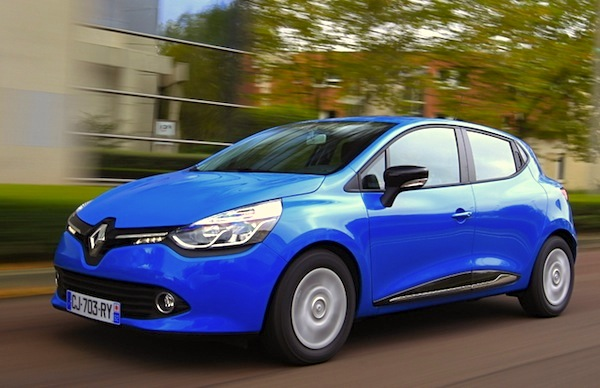 Renault Clio Slovenia October 2014. Picture courtesy of automobile-magazine.fr