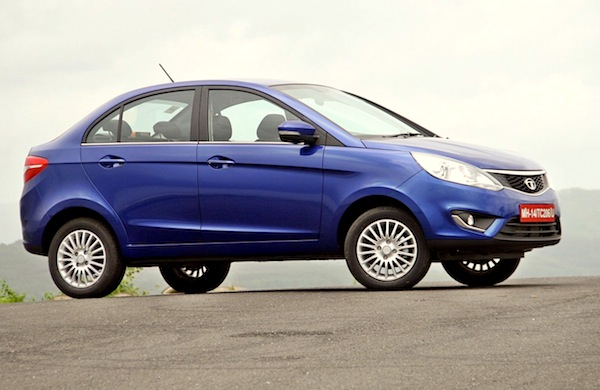Tata Zest India October 2014. Picture courtesy of motoroids.com