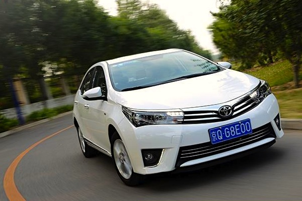 Toyota Corolla China October 2014. Picture courtest of xgo.com.cn