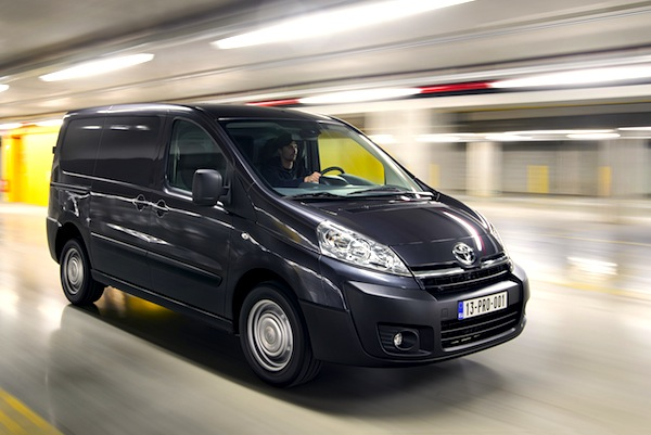 Toyota Proace France September 2014