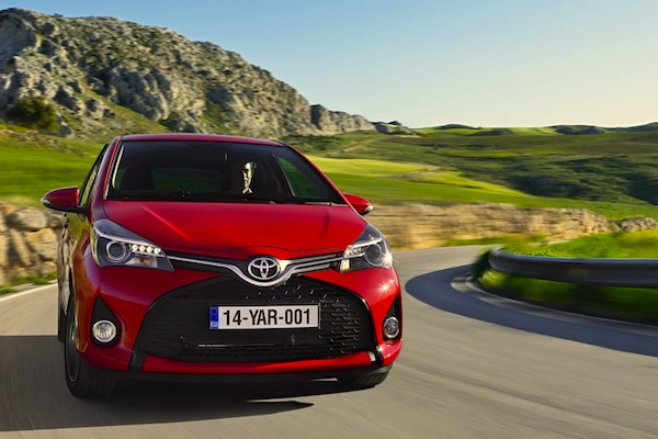 Toyota Yaris France November 2014. Picture courtesy of largus.fr