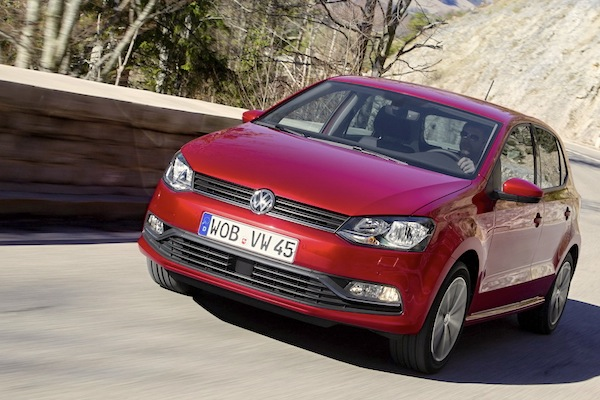 VW Polo France November 2014. Picture courtesy of largus.fr