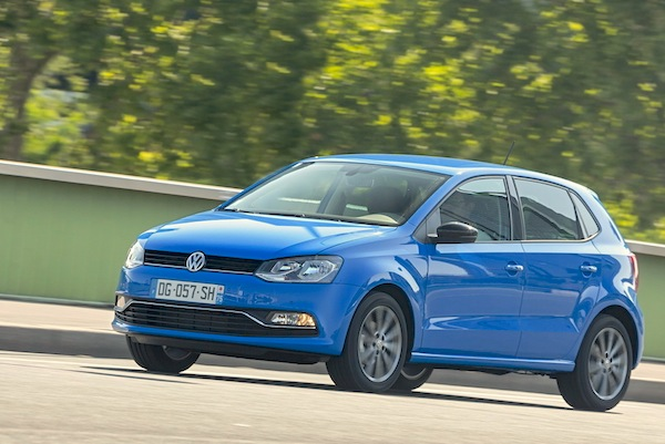 VW Polo France October 2014. Picture courtesy of largus.fr