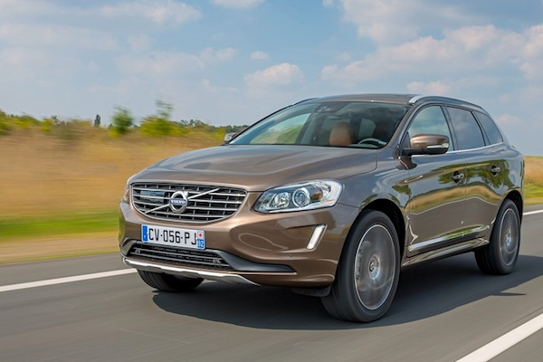 Volvo XC60 Cyprus October 2014. Picture courtesy of largus.fr