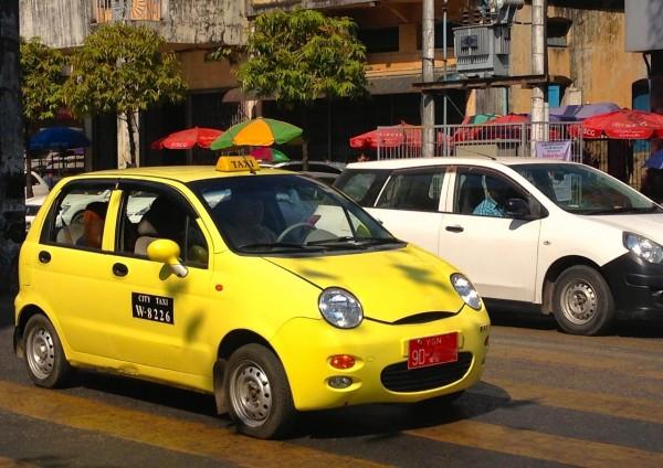 2. Chery QQ Yangon