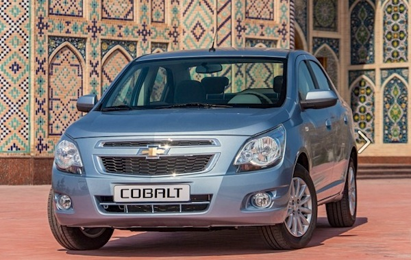 Chevrolet Cobalt Kazakhstan October 2014. Picture courtesy of zr.ru