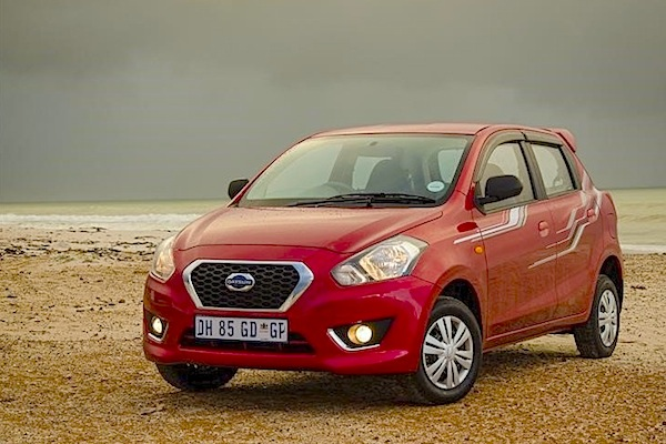 Datsun Go South Africa January 2015. Picture courtesy of cars.co.za